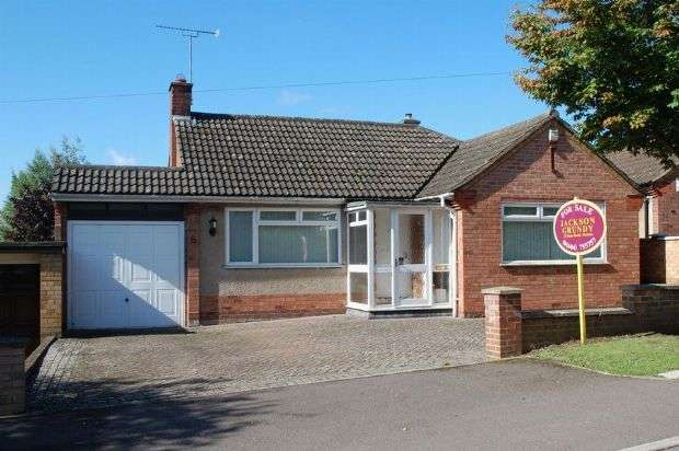 2 Bedrooms Detached Bungalow for sale in Edgehill Road, Duston, Northampton NN5 6BY