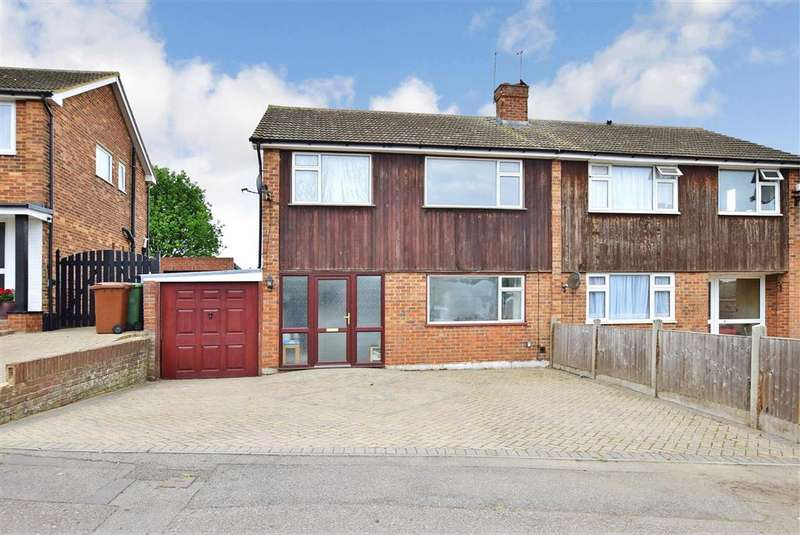 3 Bedrooms Semi Detached House for sale in Furze Hill Crescent, Halfway, Sheerness, Kent
