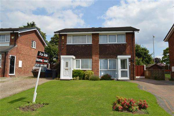 2 Bedrooms Semi Detached House for sale in Segundo Road, Walsall