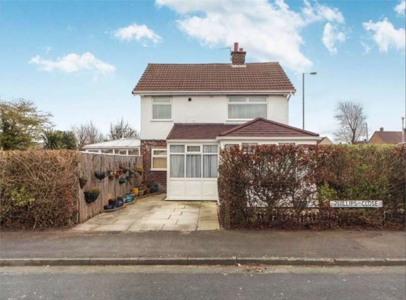 3 Bedrooms Semi Detached House for sale in Phillips Close, Thornton, LIVERPOOL, Merseyside