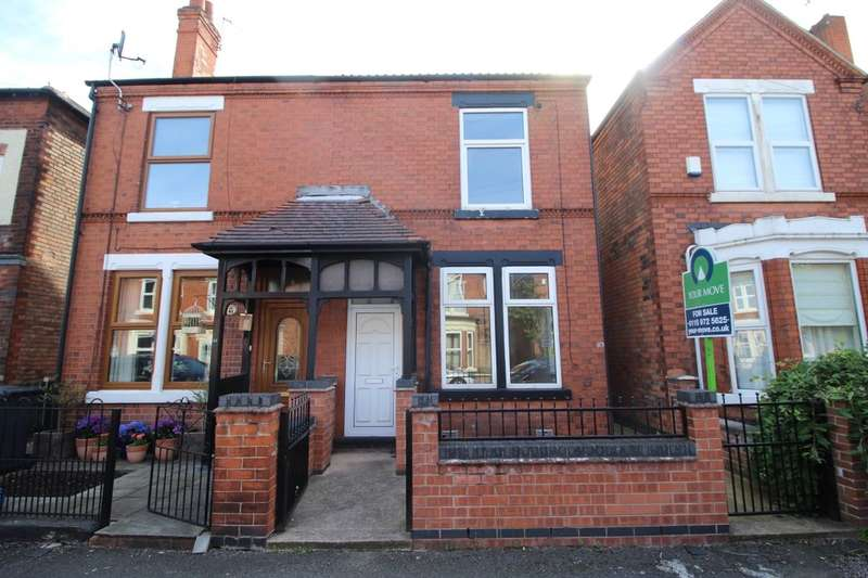 3 Bedrooms Semi Detached House for sale in Charlton Avenue, Long Eaton, Nottingham, NG10