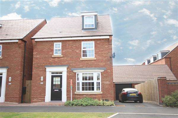 4 Bedrooms Detached House for sale in Bayswater Sqaure, Stafford