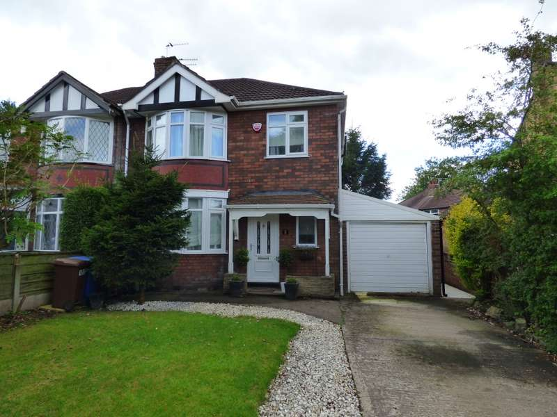 3 Bedrooms Semi Detached House for sale in Chatsworth Road, Hazel Grove, Stockport