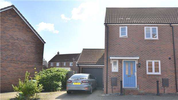 2 Bedrooms End Of Terrace House for sale in Northolt Way Kingsway, Quedgeley, GLOUCESTER, GL2 2FG