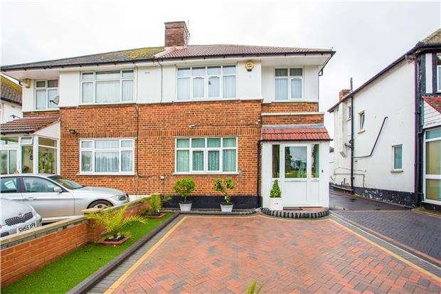 3 Bedrooms Semi Detached House for sale in The Mall, KENTON, Middlesex, HA3 9TG
