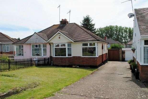 2 Bedrooms Semi Detached Bungalow for sale in Sandhills Close, Kingsthorpe, Northampton NN2 8EB