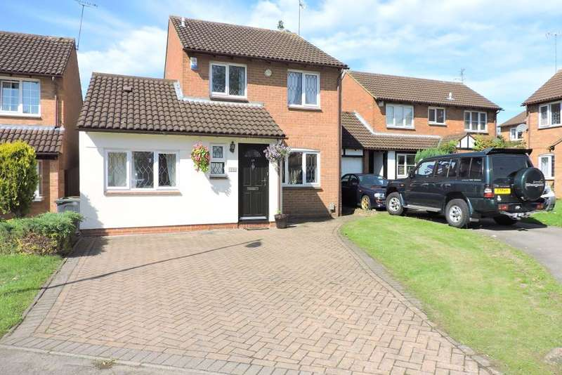3 Bedrooms Detached House for sale in Morrell Close, Luton, Bedfordshire, LU3 3XB