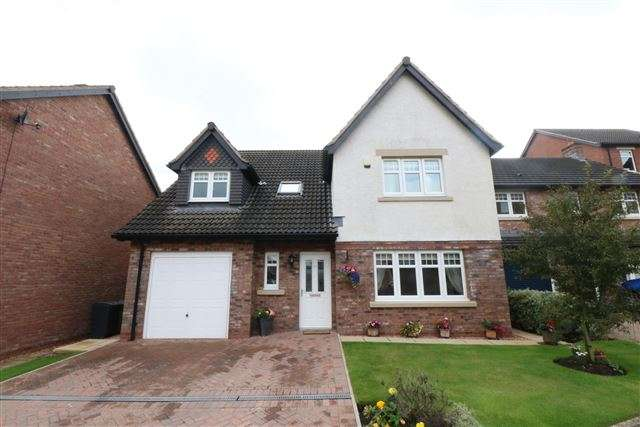 4 Bedrooms Detached House for sale in Merlin Court, Carlisle, Cumbria, CA2 7NY