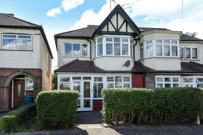 3 Bedrooms Semi Detached House for sale in The Gardens, West Harrow, HA1