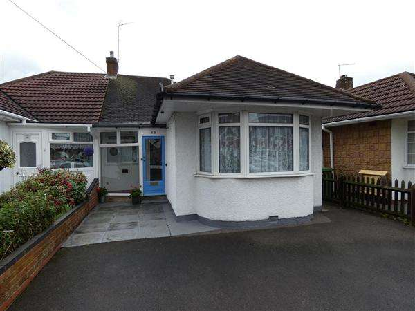 2 Bedrooms Bungalow for sale in Marcot Road, Solihull, West Midlands