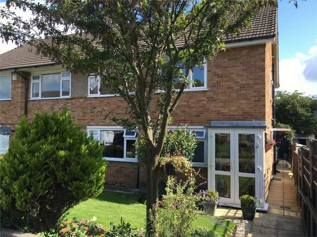 2 Bedrooms Maisonette Flat for sale in Vernon Close, West Ewell