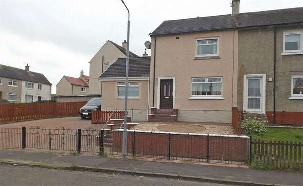 3 Bedrooms End Of Terrace House for sale in Fairview Drive, Kirkfieldbank, Lanark