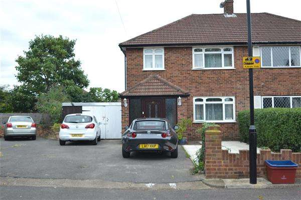 3 Bedrooms Semi Detached House for sale in Pates Manor Drive, Bedfont