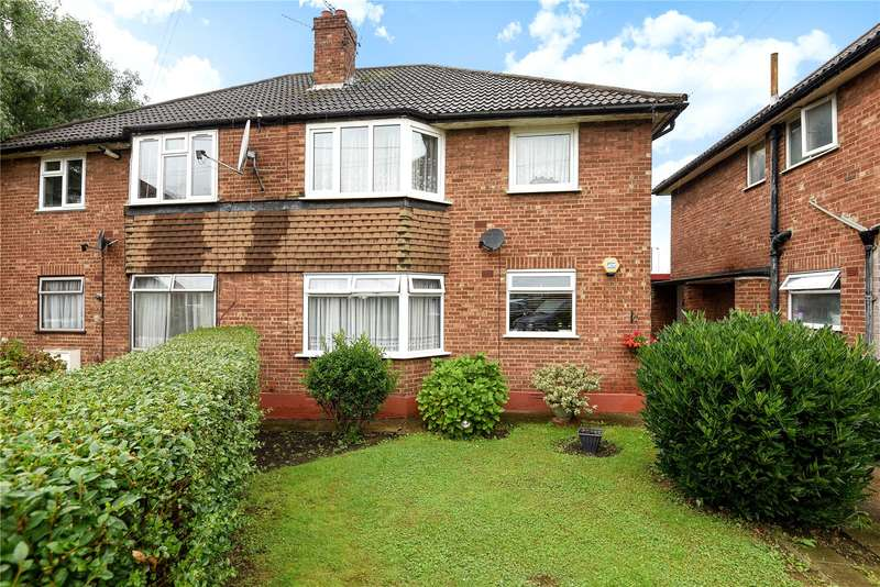 2 Bedrooms Maisonette Flat for sale in Blenheim Close, Greenford, Middlesex, UB6