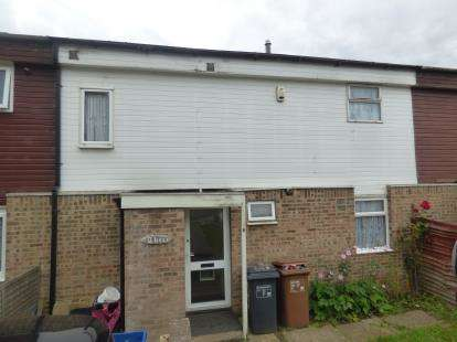 3 Bedrooms Terraced House for sale in Flaxlands Court, Lings, Northampton, Northamptonshire