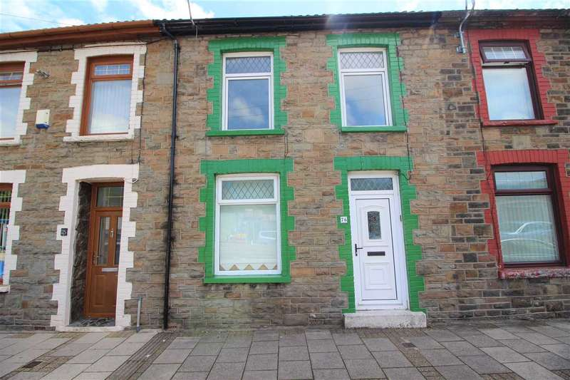 3 Bedrooms Terraced House for sale in Ynyscynon Road, Trealaw, Tonypandy