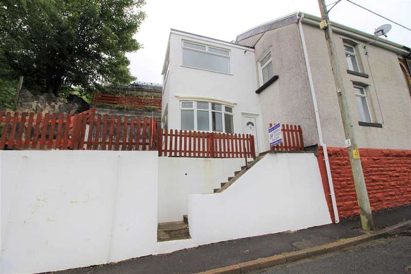 3 Bedrooms Semi Detached House for sale in George Street, Blaenllechau, Ferndale