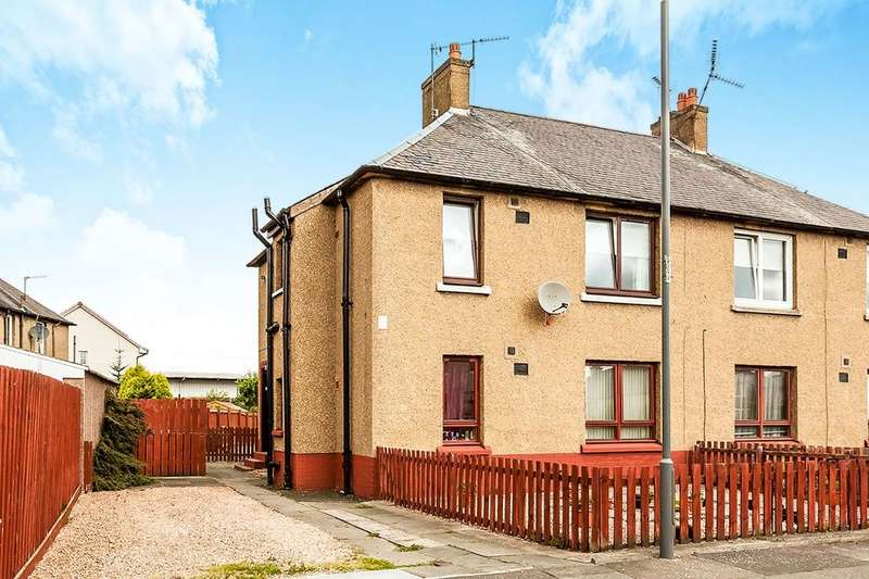 2 Bedrooms Flat for sale in Almond Street, Grangemouth, FK3