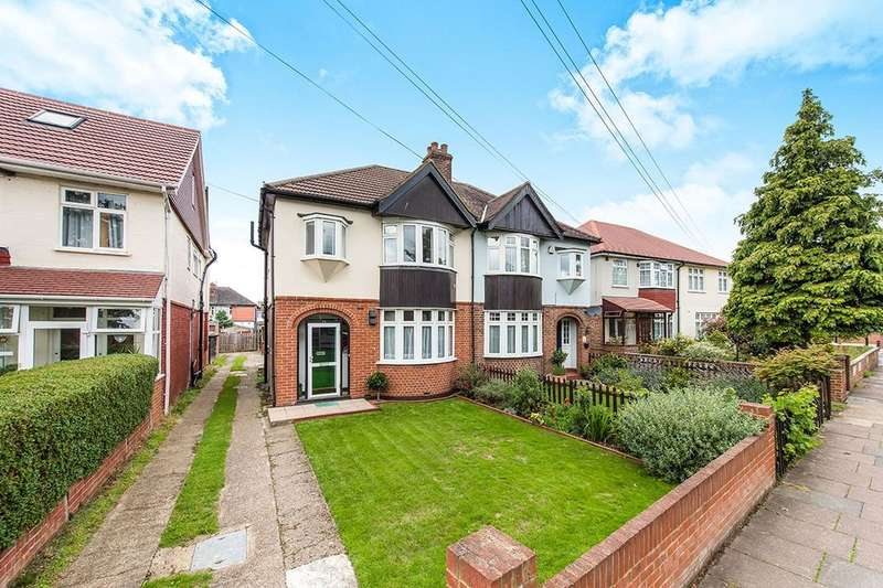 3 Bedrooms Semi Detached House for sale in Hall Road, Isleworth, TW7
