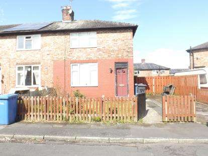 2 Bedrooms End Of Terrace House for sale in Molyneux Avenue, Warrington, Cheshire