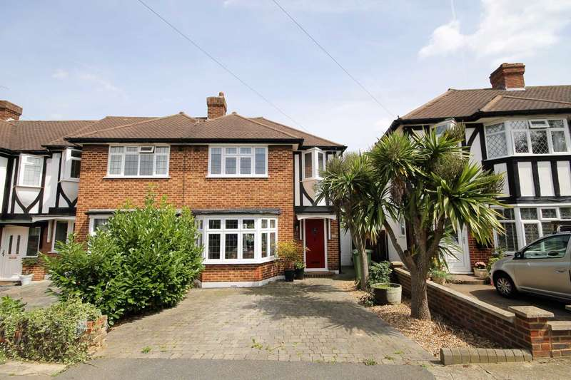 3 Bedrooms End Of Terrace House for sale in Seymour Avenue, Morden