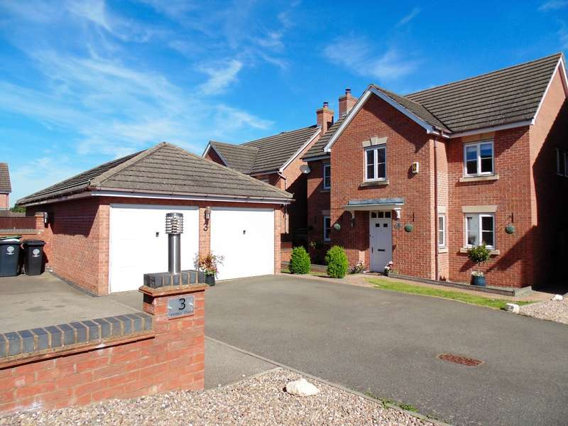 4 Bedrooms Detached House for sale in Yelden Close, Rushden