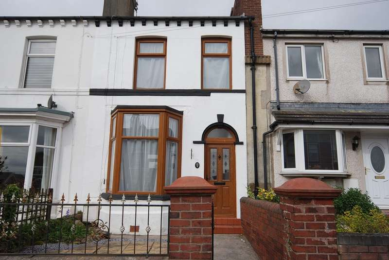 2 Bedrooms Terraced House for sale in Gladstone Terrace, Barrow-in-Furness, Cumbria, LA14 4HR