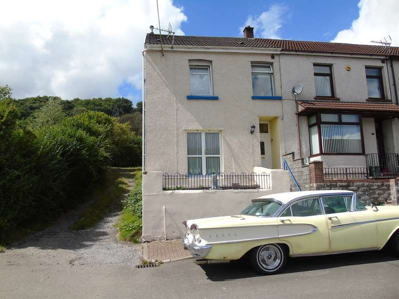 3 Bedrooms End Of Terrace House for sale in Thompson Villas, Ynysybwl, Pontypridd