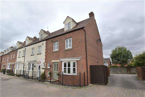 4 Bedrooms End Of Terrace House for sale in The Plantation, Hardwicke, GLOUCESTER, GL2 4SP