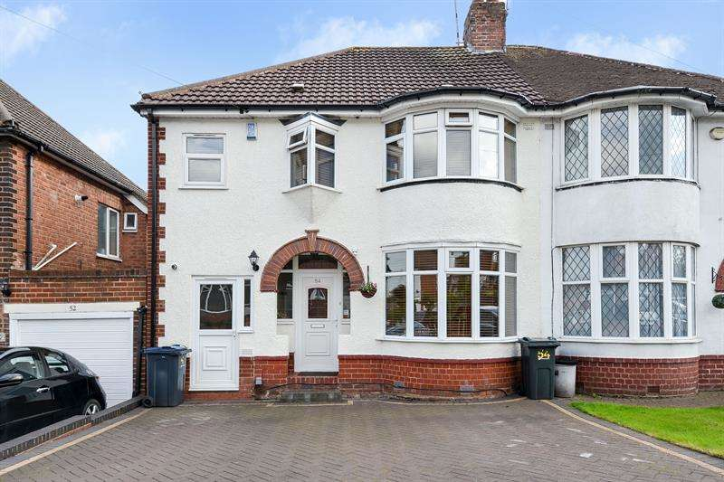 4 Bedrooms Semi Detached House for sale in West Park Avenue, Northfield, Birmingham