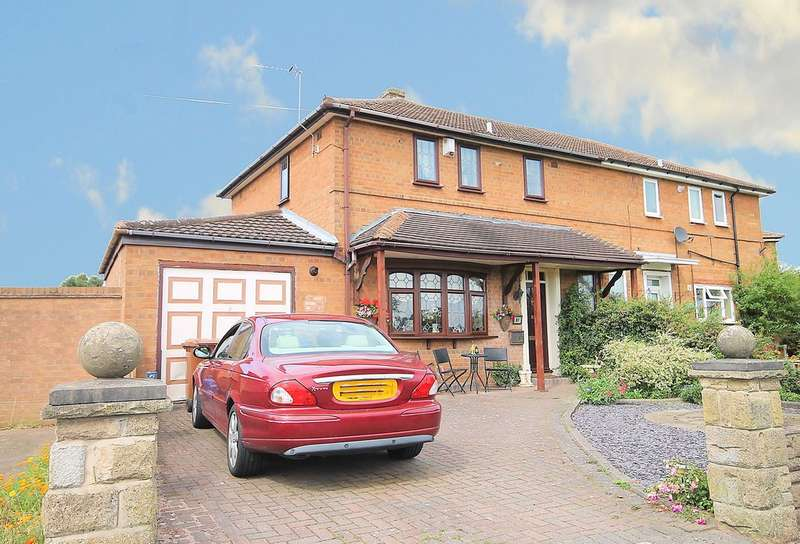 3 Bedrooms Semi Detached House for sale in Brook End, Fazeley, Tamworth, B78 3RS