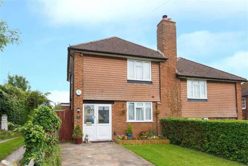 3 Bedrooms Semi Detached House for sale in Chessmount Rise, Chesham, Buckinghamshire, HP5 1RB