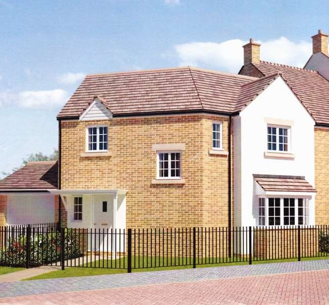 3 Bedrooms Semi Detached House for sale in Olympic Square, Corby, Northamptonshire, NN18