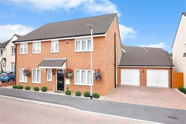 5 Bedrooms Detached House for sale in Damask Way, Warminster