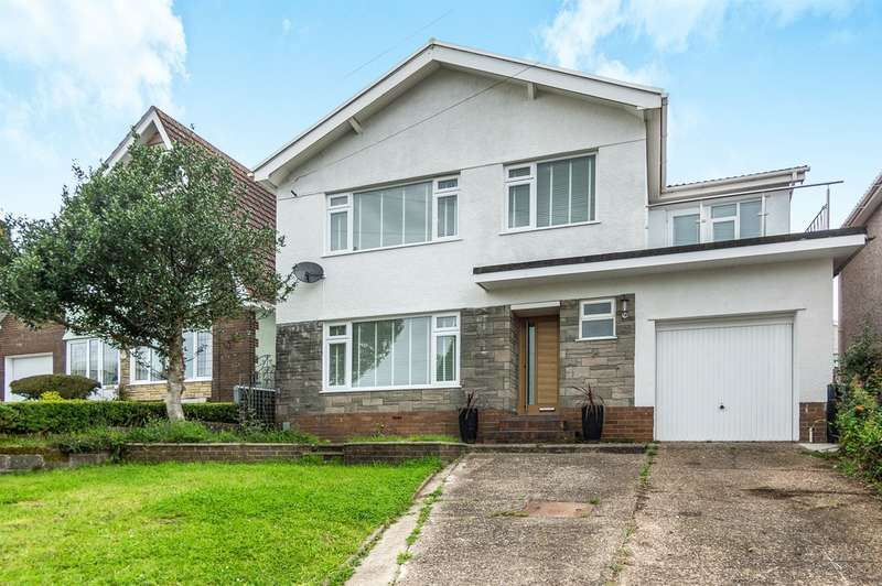 4 Bedrooms Detached House for sale in Larkspur Drive, West Cross, Swansea