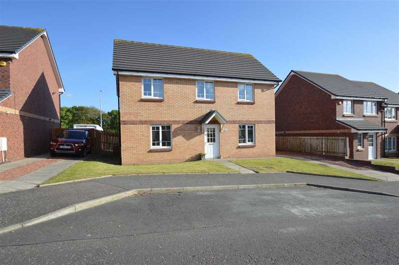 4 Bedrooms Detached House for sale in Wilkie Drive, Motherwell