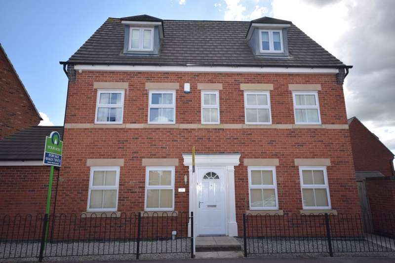 5 Bedrooms Detached House for sale in Hornbeam Way, Kirkby-In-Ashfield, Nottingham, NG17