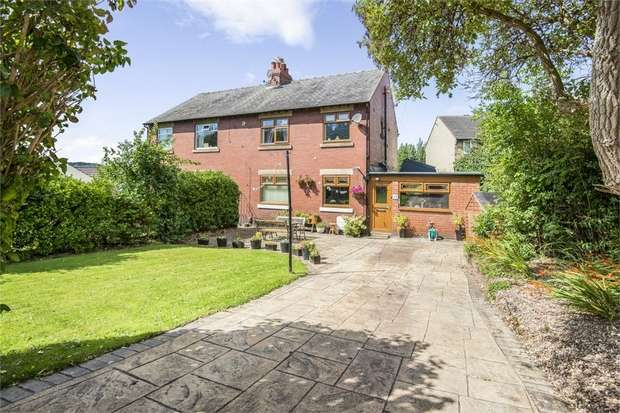 3 Bedrooms Semi Detached House for sale in Lascelles Hall Road, Huddersfield, West Yorkshire