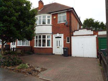 3 Bedrooms Semi Detached House for sale in Aberdale Road, Leicester, Leicestershire