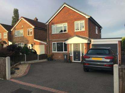 3 Bedrooms Detached House for sale in Blenheim Place, Huthwaite, Sutton-In-Ashfield, Nottinghamshire