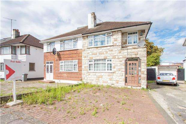 3 Bedrooms Semi Detached House for sale in Chapman Crescent, KENTON, Middlesex, HA3 0TF