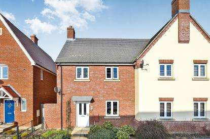 3 Bedrooms Semi Detached House for sale in Brooklands Avenue, Wixams, Bedford, Bedfordshire