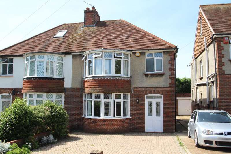 3 Bedrooms Semi Detached House for sale in Foredown Drive, Portslade, East Sussex, BN41 2BE