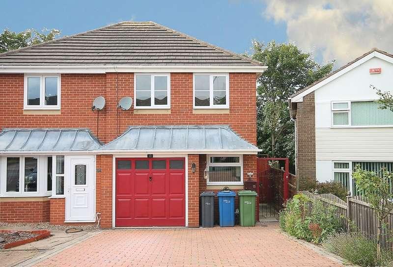 2 Bedrooms Semi Detached House for sale in Riverfield Grove, Bolehall, Tamworth, B77 3NB