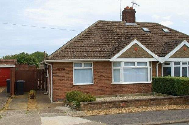 2 Bedrooms Semi Detached Bungalow for sale in Muscott Lane, Duston, Northampton NN5 6HH