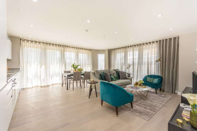 1 Bedroom Flat for sale in Atar House, South Bermondsey, SE16