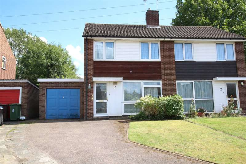 3 Bedrooms Semi Detached House for sale in Chiltern Road, St. Albans, Hertfordshire, AL4