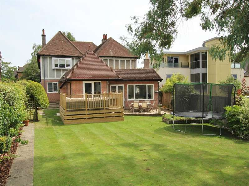 3 Bedrooms Cluster House for sale in Windsor Road, Lower Parkstone, POOLE, BH14