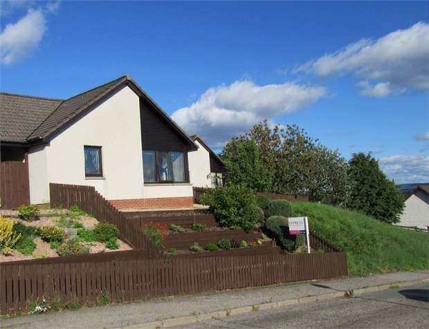 2 Bedrooms Semi Detached Bungalow for sale in Woodside, Alness, Highland