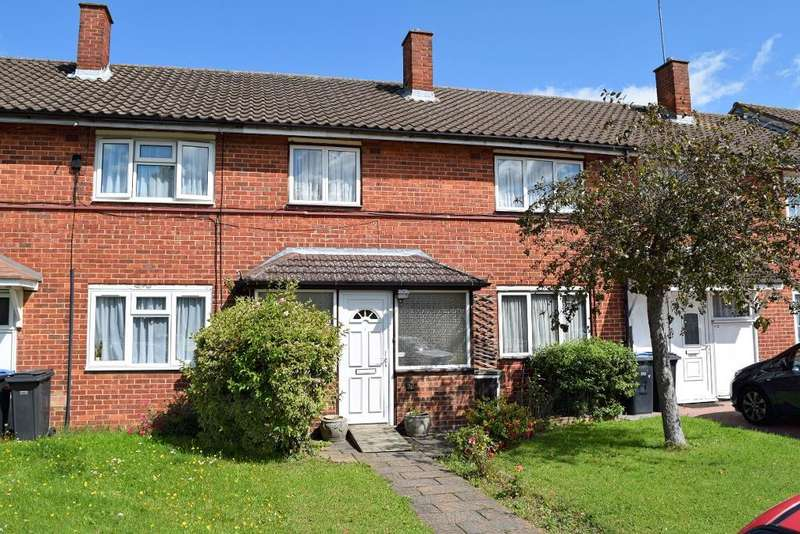 3 Bedrooms Terraced House for sale in Wedhey, Harlow, Essex, CM19 4AF